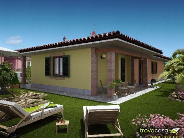 Ville singole in vendita in provincia di bergamo for Portico laterale in stile casa in stile charleston