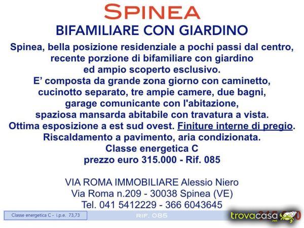 ea23d4764f Villa/villetta in vendita a Spinea via Roma 209