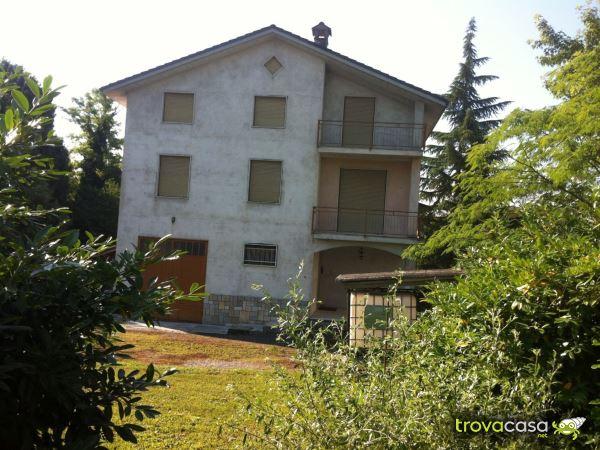 case con giardino privato in affitto a silvano d'orba (al