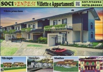 Villa a schiera in Vendita Bibbiena