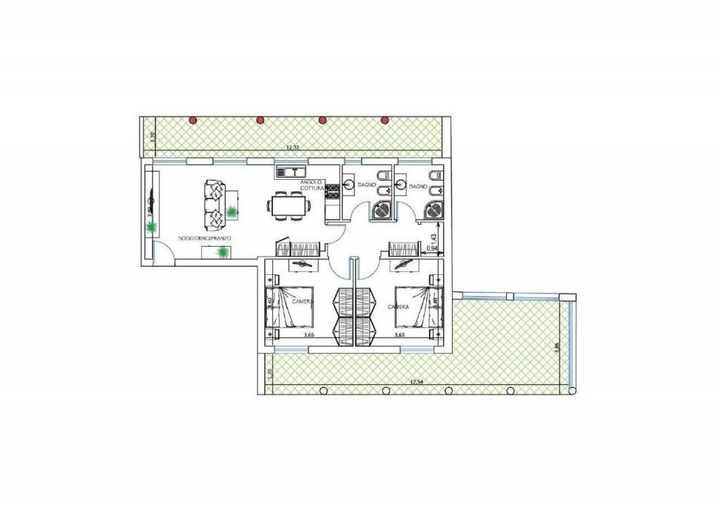 Appartamento Prato 35913272
